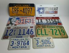 Joblot of Original American Licence Number Plates - USA registration plate lot