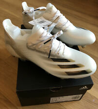 Adidas X Ghosted.1 SG - Size 8 UK - White/Gold RRP £180