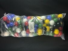 Vacor bulk bag of 125 solid color game marbles