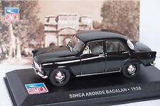 ALTAYA SIMCA ARONDE BATACLAN 1958 1/43