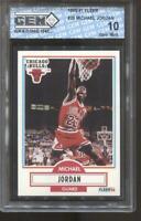 1990-91 Michael Jordan Fleer #26 Gem Mint 10 Chicago Bulls MVP HOF