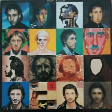 THE WHO - FACE DANCES LP with POSTER Polydor 1981