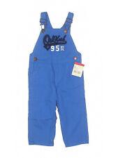 New Toddler OshKosh Boy Royal Blue Overalls Size 18 Months