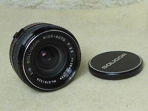 Soligor MC I S Wide-Auto 28mm f 2.5 PENTAX PK MOUNT k1000 me super etc