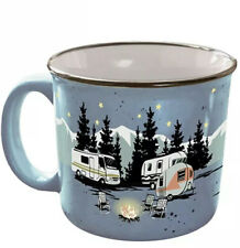 Camp Casual ' Starry Night  ' Coffee Mug Cup Retro Cups Mugs RV Camping