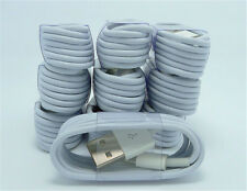 10pcsx1M USB Charger Cord Sync Data Cable for iPhone 5/5S/C/6/3FT Wholesale