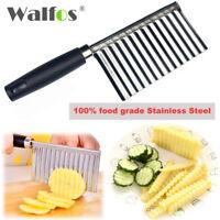 Couteau Pommes de terre Frites Ondulées Tranchant Cuisine Légumes Fruits