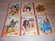 Lot de 6 livres de la collection spirale