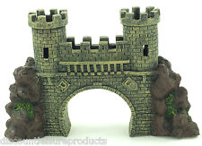Aquarium 30cm Castle Bridge Ornament Fish Tank Decoration #3600U