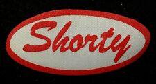 Shorty Vintage 1960s Cursive Name Patch Uniform Shirt Iron On Rare Vhtf Bronx