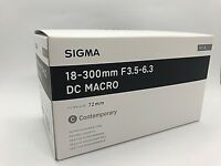 New SIGMA 18-300mm f/3.5-6.3 DC MACRO OS HSM Contemporary Lens for NIKON F