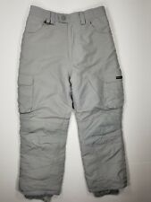 Suisse Sport Size 12 Boys Insulated Snowboard Ski Pants Gray Winter Snow