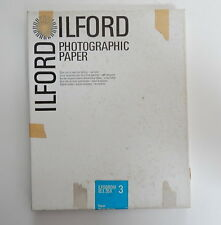 Ilford Photographic Paper Rayon Double Weight ILFOBROM 3 IB3.35K R13883