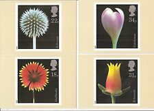 (14224) GB PHQ Mint Postcards Flower Photography 1987