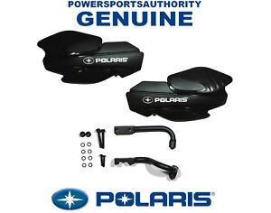 2013-2020 Polaris Sportsman 800 1000 OEM Black Hand Guard & Bracket Kit Assy P85