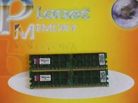 Server Memory 8GB 2X4GB DDR2 PC2-5300 240pin 667MHZ ECC REG KVR667D2D4P5/4GEF