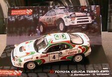 TOYOTA CELICA TURBO 4WD #4 WIN 1000 LAKES RALLY 1993 KANKKUNEN GIRAUDET IXO 1/43