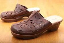 Bass Brown Mules Women's Size 7.5 M