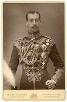 Albert Victor de Clarence, fils d'Edouard VII Vintage albumen print.Alber