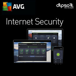 AVG INTERNET SECURITY 2021 10 DEVICES 2 YEAR'S US