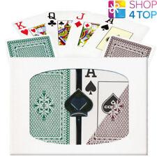 Copag Pro Brücke Größe Jumbo Index Doppel Deck 100% Plastik Spielkarten Neu