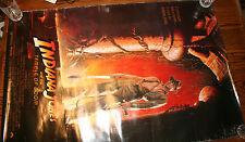 4 Indiana Jones Large Posters, Raiders, Temple, Last Crusade, Harrison Ford