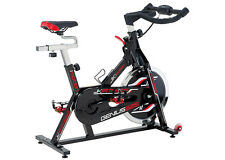 GENIUS 525 Jk Fitness indoor cycle cyclette volano 22 kg a catena cardio palmare