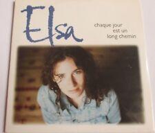 """ELSA LUNGHINI - CD SINGLE """"CHAQUE JOUR EST UN LONG CHEMIN"""" - NEUF SOUS BLISTER"""