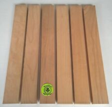 "3/4"" x 2"" x 16"" BLACK CHERRY Hardwood Lumber made by Wood-Hawk Pack of 6 or 10"