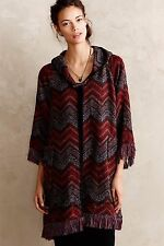 Anthropologie 'Mesilla' Sweater Coat by Hei Hei - Sz XS/S Beautiful Design!