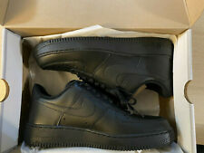 Men's Nike Air Force 1 '07 Triple Black Low Sneaker 315122-001 Lace Up Sizes New