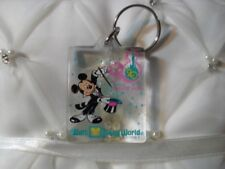 Walt Disney World, Mickey Mouse Key Ring, 20 Magical Years, Key Chain