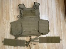 Eagle Industries CIACS Vest Plate Carrier With Soft Armor USAF Coyote Brown Med