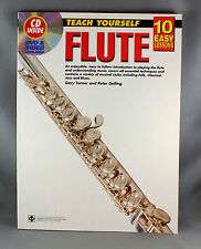 10 Easy Lessons Teach Yourself Flute - Book & CD
