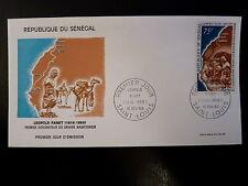 SENEGAL AERIEN 317   PREMIER JOUR FDC   EXPLORATEUR SAHARA L. PLANET  75F   1969