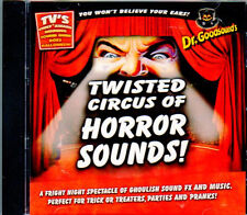 Dr. Goodsound's HALLOWEEN: TWISTED CIRCUS OF HORROR SOUNDS & CARNIVAL MUSIC! NEW