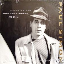 PAUL SIMON Negotiations And Love So GER Press Double LP