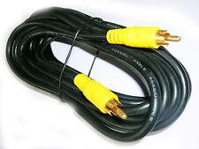 NEW Digital Coaxial Audio SPDIF Phono RCA Lead 10 Metre Cable Heavy Duty RG59