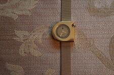 Lip Women's 1892092 Mach-Mini Lady Moon Analog Display Swiss Quartz Gold Watch