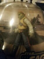Star Wars The Saga Collection #004 Barada (sail barge) New, w/Hologram figure.