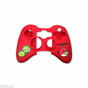 Angry Birds Gamerpad Controller Pad Skin Wrap Silicon in Red - Xbox 360 - New