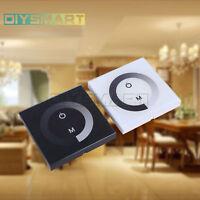 12V-24V Sensitive Touch Panel LED Light Dimmer Wall Mounted Switch AU