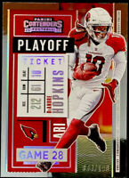 🔥 2020 DeAndre Hopkins /199 Panini Contenders PLAYOFF TICKET SP CARDINALS