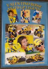 VALENTINO ROSSI MOTO GP  POSTER 70 X 100 CM READY TO FRAME