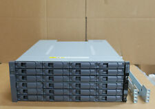 NetApp DS4243 116-00419+B1 - 24 x 600 Go 15K X412A-R5 2 x IOM3 contrôleurs étagère