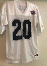 DALLAS COWBOYS CHEERLEADERS WOMEN'S JERSEY TOP WHITE MESH SIZE SMALL
