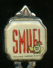 1940's? WHITE SPOT Restaurants Souvenir Spoon w Chicken Logo VANCOUVER BC Canada