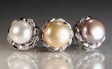 925 sterling silver freshwater pearl earring stud