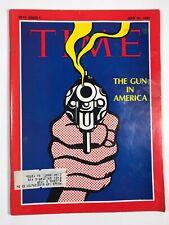 Time Magazine June 21, 1968- The Gun In America