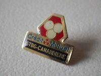 Pin's vintage Collector épinglette publicitaire CREDIT MUTUEL banque Lot L118